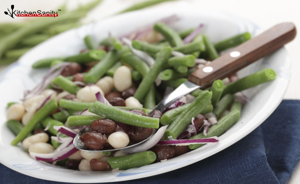 3 Bean Salad With Onions