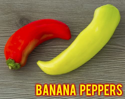 2 Banana Peppers
