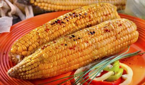 BBQ Grilled Corn With Spices