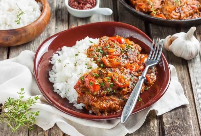 Beef Stew On Rice