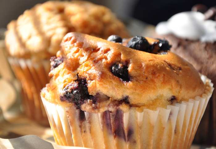 Blueberry Muffins For Brunch