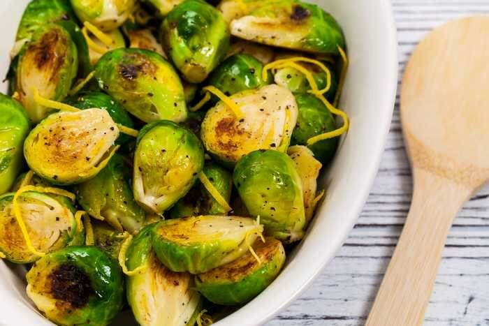 brussels sprouts with lemon