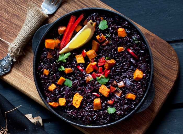 Butternut Squash with Wild Rice