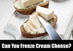 Can You Freeze Cream Cheese? How To Guide