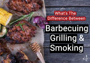 difference between barbecue and grill