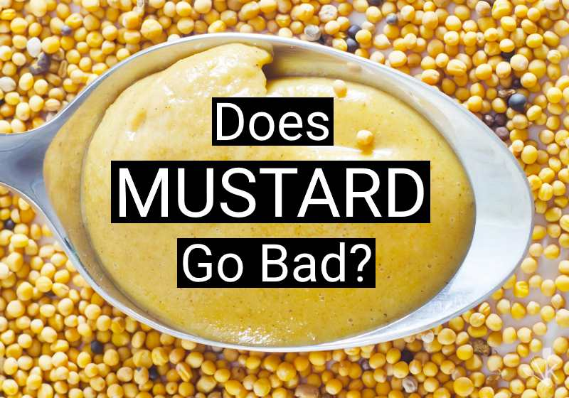 does mustard go bad