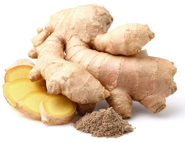 dry and fresh ginger