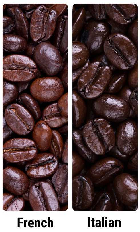 French roast vs Italian roast