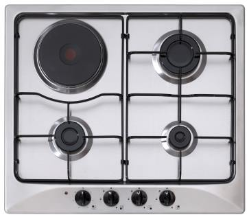 gas electric range top