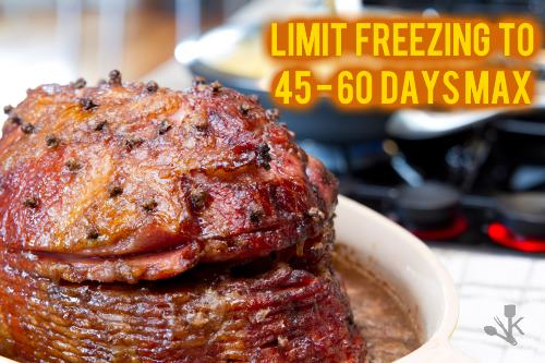 how long can you freeze a ham