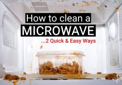 2 EASY Ways How To Clean A Microwave Inside & Out!