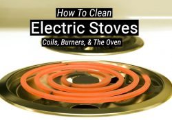 How To Clean Electric Stove Burners, Coils & Ovens