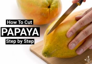 How To Cut A Papaya & The Best Ways To Eat It!