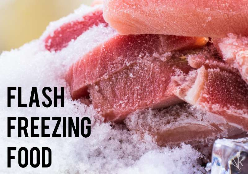 How To Flash Freeze Food