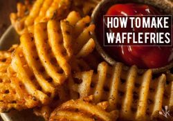 How To Make Waffle Fries At Home