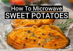 How To Microwave A Sweet Potato (Easy Recipe)