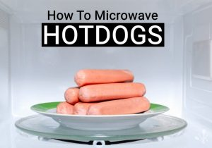 how to microwave hot dogs