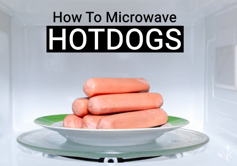 To Microwave Hot Dogs Plain Boiled