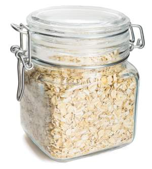 Storing Oatmeal In A Mason Jar