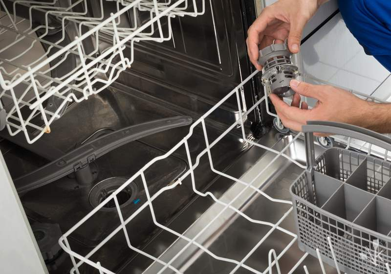 How To Unclog A Dishwasher & Drain