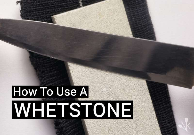 how to use a whetstone