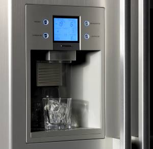 ice and water dispenser