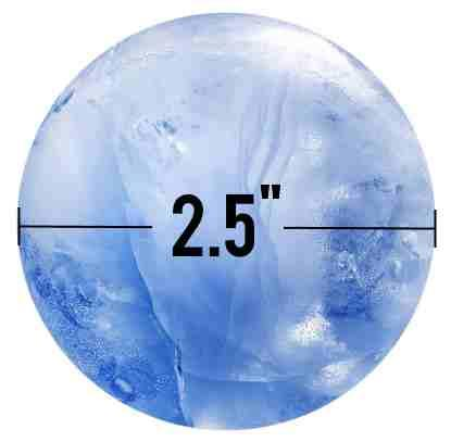 Tovolo ice ball size