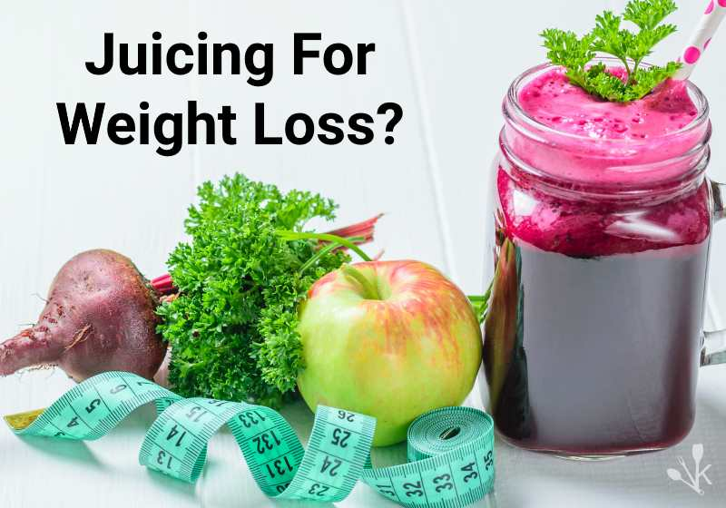 juicing to lose weight