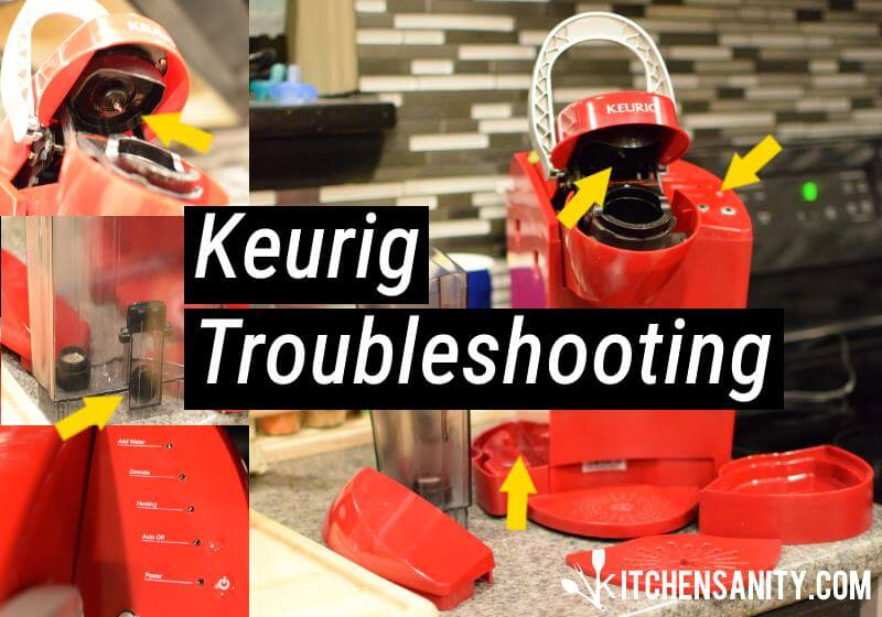 Keurig Troubleshooting How To Fix 17 Common Problems Kitchensanity