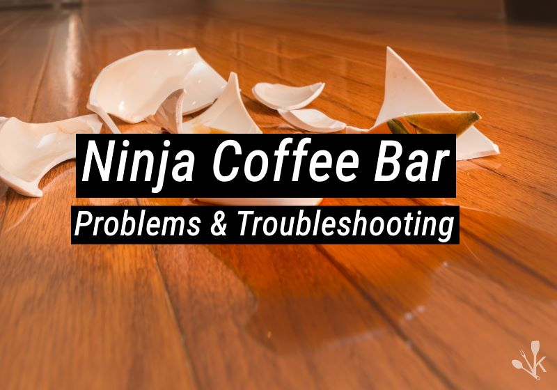 Ninja Coffee Bar Troubleshooting
