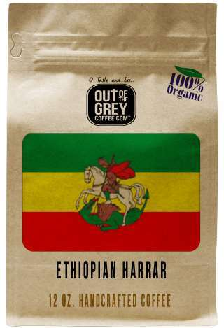 Out of the Grey coffee Single Origin Ethiopian Harrar Organic Coffee