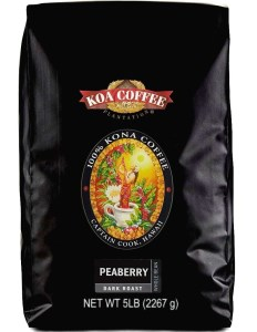 Koa Coffee Peaberry Dark Roast