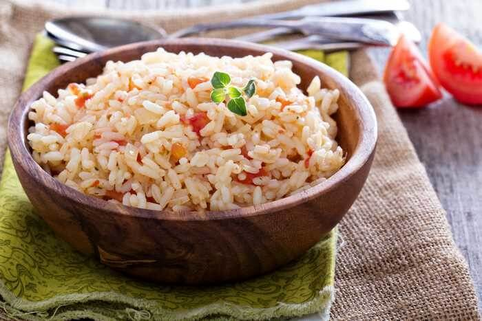 rice pilaf with tomato