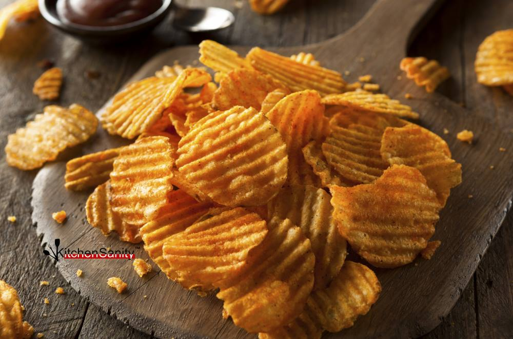 Rustic Potato Chips Spicy BBQ