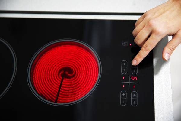 smooth electric cooktop