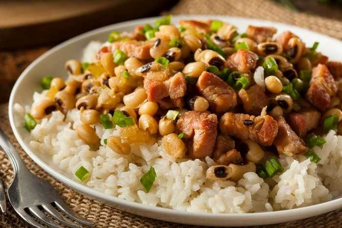 Southern Hoppin' John With Rice