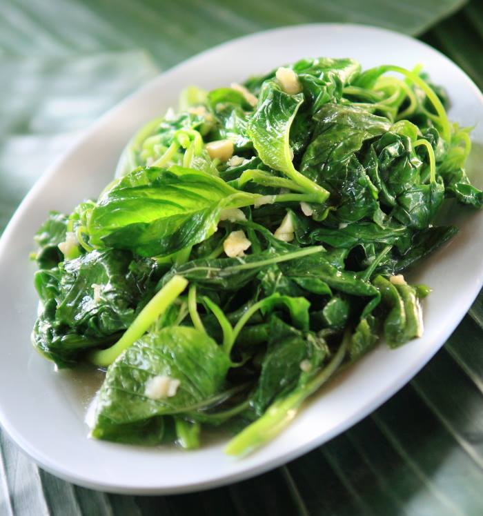 Spinach With Garlic