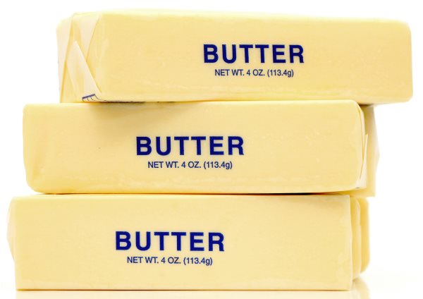 4 oz. sticks of butter (113.4g)