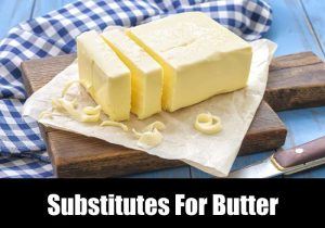 Substitutes For Butter