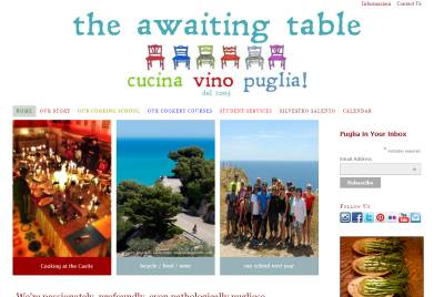 the awaiting table homepage