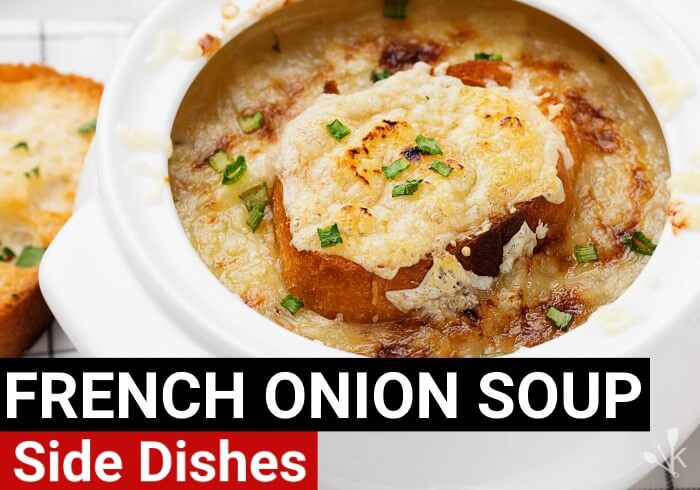 what goes with french onion soup