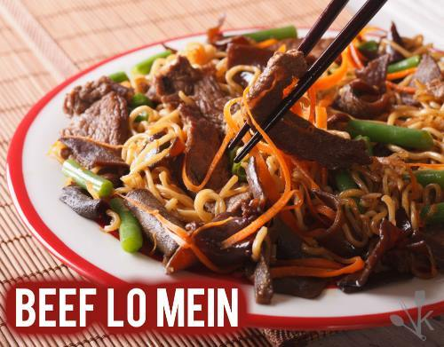 what is beef lo mein