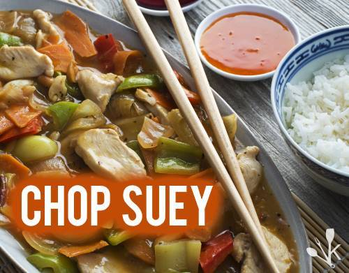 What is chop suey?