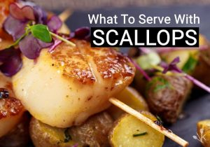 what to serve with scallops